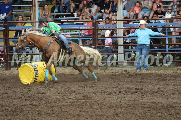 Barrel racer Julie
