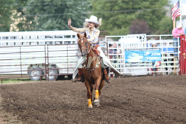 Scarlett Gruener, 2018 Miss Wapello Rodeo