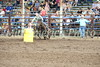 Barrel racer Sydney Reid of Wapello, IA