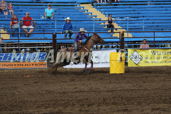 Barrel racer Molly