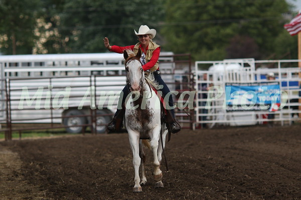 Mateer Strong, 2017 Miss Wapello Rodeo