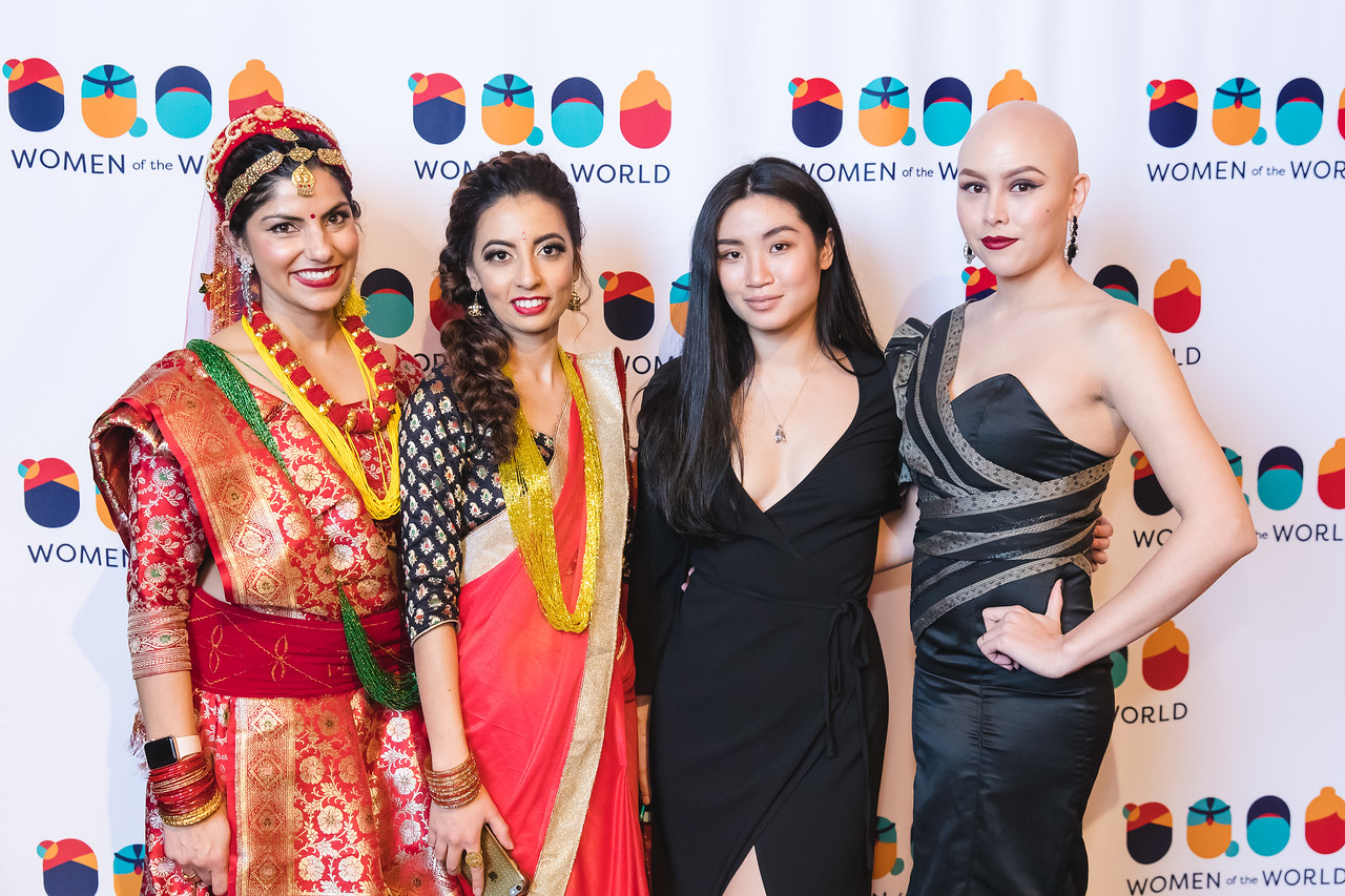 Imagery from the 2018 Women of the World Fashion Show in Salt Lake City, UT.
