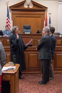 Mayor Briley sworn in 2018