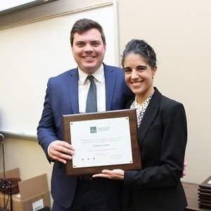 Erin Palmer Polly & Tim Capria, President's Award