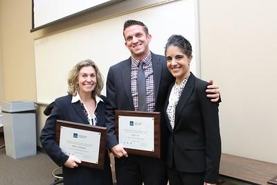 Shellie Handelsman, Jeff Allen & Erin Palmer Polly, President's Award
