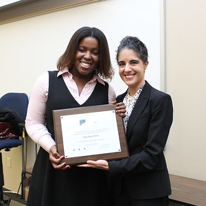 Kaya Grace Porter & Erin Palmer Polly, President's Award