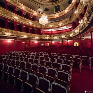 Backstage im Theater in der Josefstadt