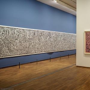 """Ausstellung """"Keith Haring - The Alphabet"""" in der Albertina. Mehr Info in meinem Blog!"""