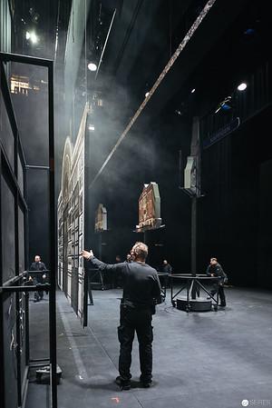 """Theaterfotografie """"Der Besuch der alten Dame"""" im Theater an der Wien 2018"""