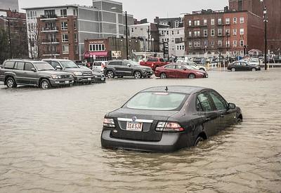 Sargent's Wharf parking lot has a problem