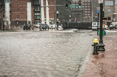State Street flooded