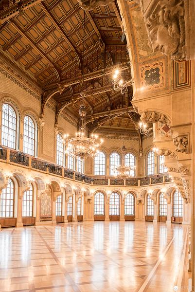 Architekturfotografie im Grossen Festsaal des Palais Ferstal