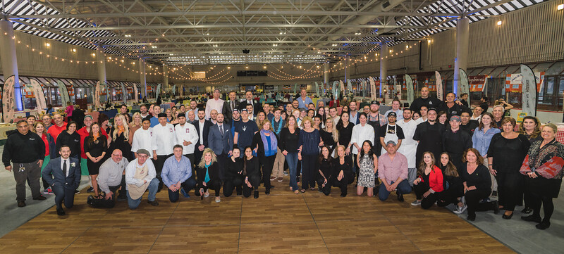 25th Taste of the North End featured over 40 restaurants and suppliers donating their delicious food and libations
