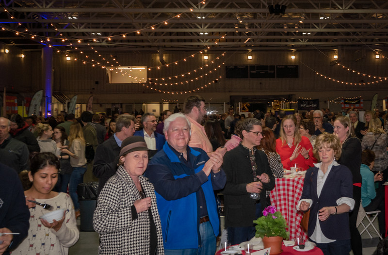 Revelers at 2018 Taste of the North End