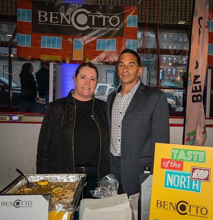 Anna Mustacchio and Joe Bono at Bencotto