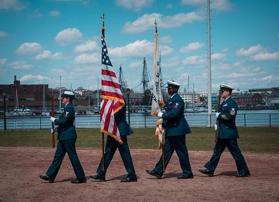 US Coast Guard Honor Guard
