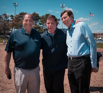 "(L-R) NEAA Coordinator John Romano, Boston Mayor Marty Walsh, Robert ""Ted"" Tomasone"