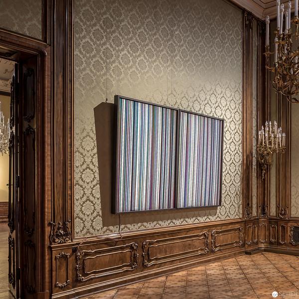 Wienerroither & Kohlbacher W&K Palais Schönborn-Batthyány / Vienna, Exhibition: AROTIN & SERGHEI - Metamorphosis
