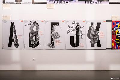 """Ausstellungsansichten """"100 BESTE PLAKATE 17"""""""