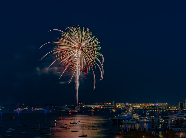 Illuminate the Harbor Fireworks