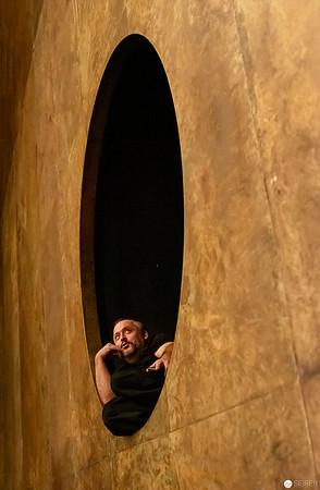 Backstage im Burgtheater, Unterbühne, Schnürboden