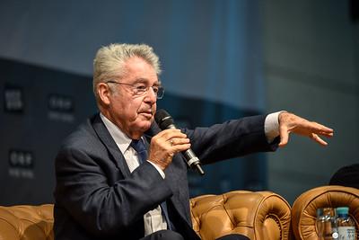 Dr. Heinz Fischer auf der Buch Wien 2018