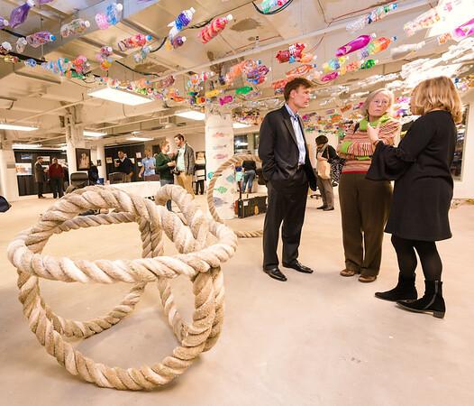 Rope sculptures from Alex Buchanan