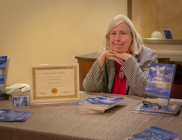 "Maura O'Leary, author of ""When Angels Play Poker"""
