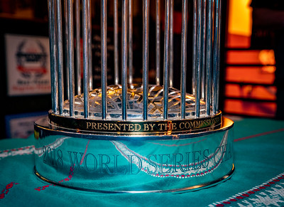 2018 Boston Red Sox World Series ChampionshipTrophy