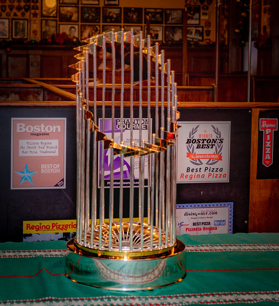 2018 Boston Red Sox World Series Championship Trophy