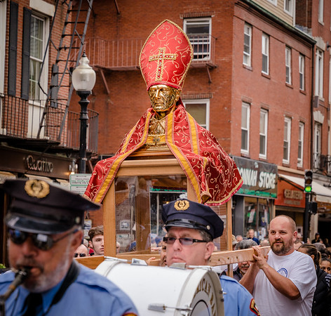 Boston's first feast in devotion to San Gennaro of Naples, Italy