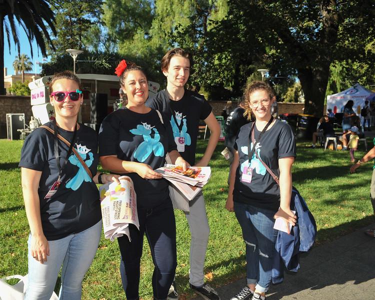 Fringe volunteers