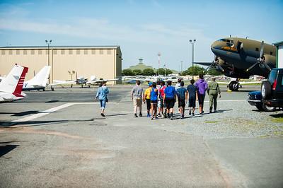 Aviation Camps of the Carolinas @ Charlotte Monroe Executive Airport 6-28-17 by Jon Strayhorn