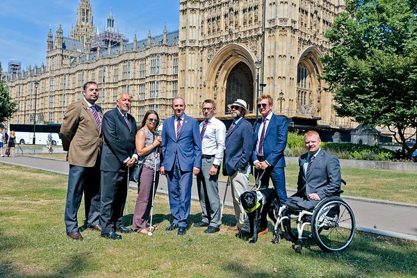 Blind Veterans UK:  House of Lords reception