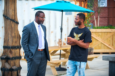 BlkTechCLT - The New Innovation of Charlotte with Mushin Muhammad II @ Camp North End 6-1-17 by Jon Strayhorn