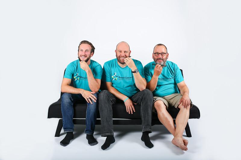 Bowel Cancer UK:  Decembeard Campaign Shoot