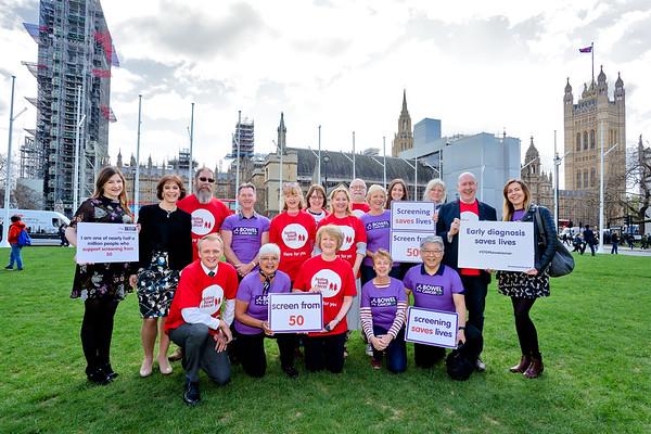 Bowel Cancer UK:  Screen at 50