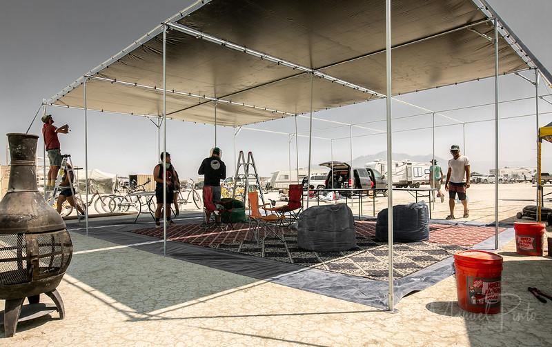 Camp Eurotrash 2018 Build