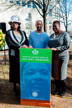 Dr. King's Dream in 2017 Memorial Wreath Laying Service @ Marshell Park 1-15-17 by Jon Strayhorn