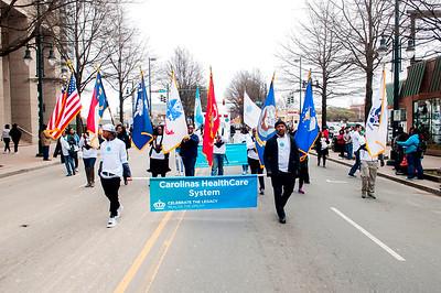 Carolinas Healthcare System MLK Parade Charlotte 1-14-17 by Jon Strayhorn