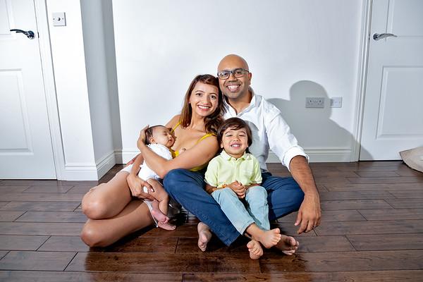 Chavda-Sitaram Family Portraits