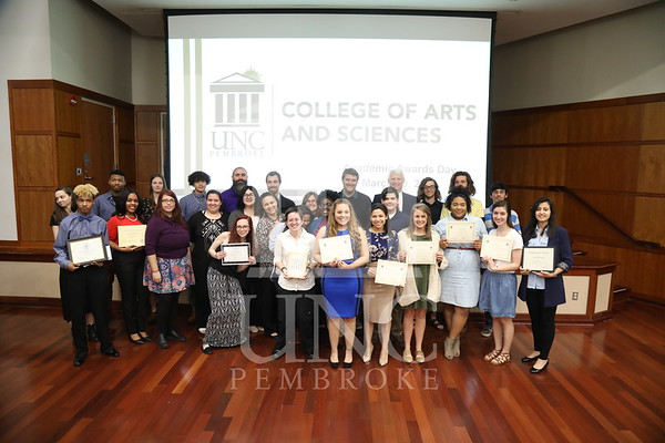 College of Arts & Sciences Academic Awards