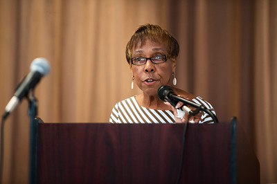Dorothy J Vaughan Academy of Technology - School Dedication Guest Speaker Joan Higginbotham Mitchell 10-13-17 by Jon Strayhorn