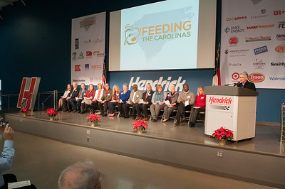Second Harvest Food Bank - Feeding The Carolinas Kick Off Event @ Hendrick Motorsports 12-15-17 by Jon Strayhorn 009