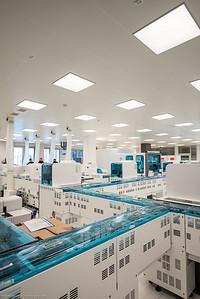 Eines der modernsten Krankenhäuser in Europe: Haus C der Universitätsklinik St. Pölten vor der Eröffnung
