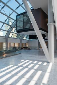 Haus C der Universitätsklinik St. Pölten vor der Eröffnung
