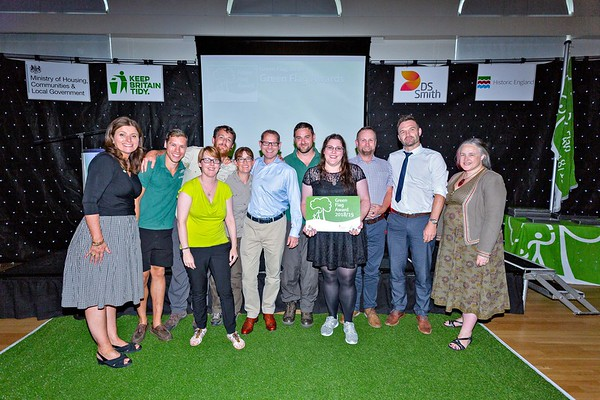 Keep Britain Tidy Green Flag Awards:  Hackney