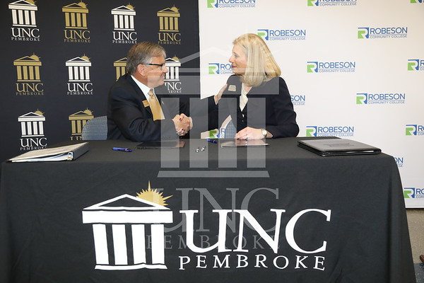 RCC/UNCP Signing Agreement