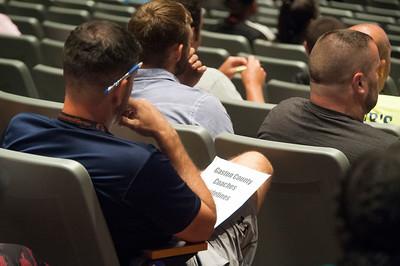 Ten Commandments To Make Great Coaches @ Sturart Cramer High School 8-1-17 by Jon Strayhorn