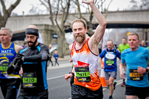 The London Landmarks Half Marathon with the MS Society